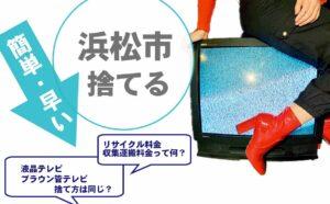 浜松市,テレビ,処分