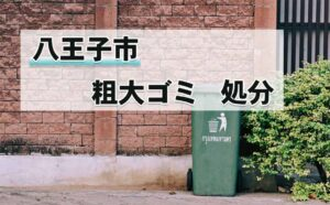 八王子市,粗大ゴミ,回収,処分
