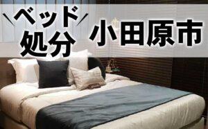小田原市,ベッド,処分